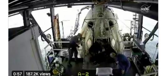 直击|SpaceX的载人飞船回来了!下一步火星?